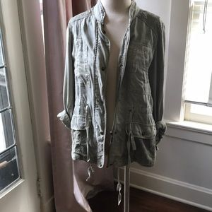 Max Jeans Olive Green Jacket